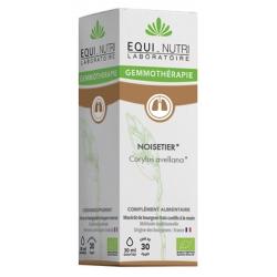 Equi Nutri Noisetier bio Flacon compte gouttes 30ml gemmotherapie