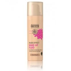 Lavera Nude Effect make up fluid Honey beige 04 30ml maquillage bio