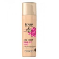 Lavera Nude Effect make up fluid Ivory light 01 30ml maquillage bio