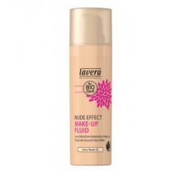 Lavera Nude Effect make up fluid Ivory nude 02 30ml maquillage bio
