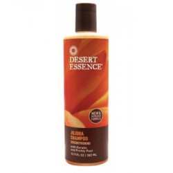 Desert Essence Shampooing au jojoba 382ml hygiène lescopinesbio