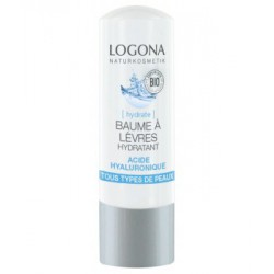 Logona Baume a levres hydratant acide hyaluronique 4,5g cosmétique bio
