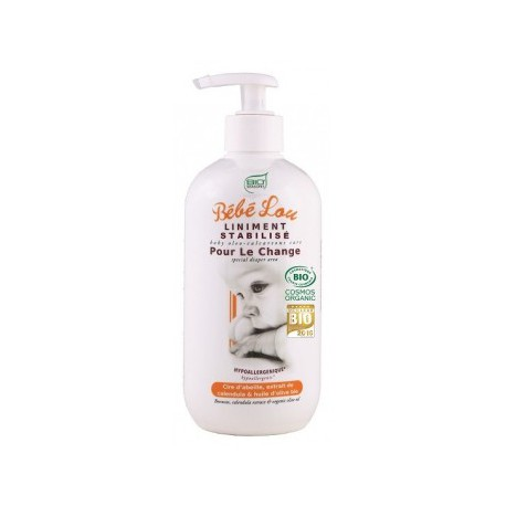 Bio Seasons Liniment stabilisé Bebe Lou 500ml hydratation bio les copines