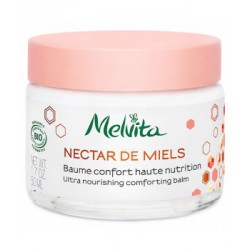 Melvita Baume confort haute nutrition 50ml hydratation les copines bio