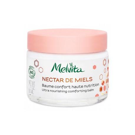 Melvita Baume confort haute nutrition 50ml hydratation les copines bio