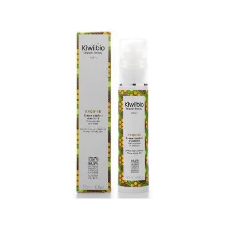 Kiwii bio Exquise creme confort elasticite 50ml crème anti-âge bio les copines