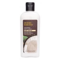 Desert Essence Crème capillaire boucles souples noix de coco 190 ml les copines bio