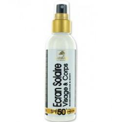 Crème solaire visage SPF 50 très haute protection 150ml solaire bio les copines