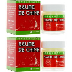 Baume de Chine 2 x 30 ml Baume de massage Monapharm les copines