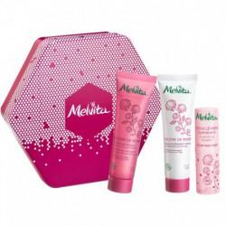 Melvita Coffret Hexagonal Nectar de Rose cosmétique bio les copines