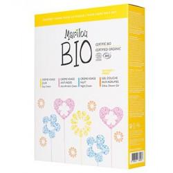 Marilou bio Coffret soins pour le visage + 1 Gel douche Agrumes OFFERT 240ml