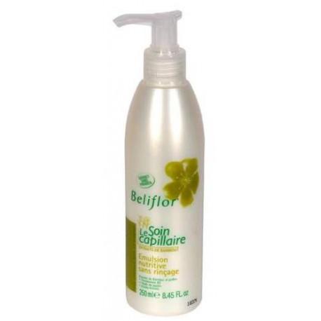 Beliflor Emulsion Nutritive sans rinçage 250 ml soin capillaire bio les copines