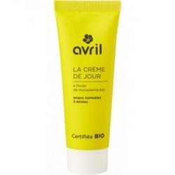 Avril Beauté Crème de jour peaux normales et mixtes Huile de Macadamia 50 ml