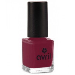 Avril Beauté Vernis à ongles Bourgogne n°26 7 ml maquillage vegan les copines bio