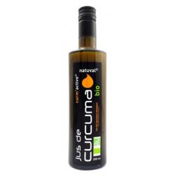Natuval Jus de curcuma bio curm-active 250 ml curcumine les copines bio