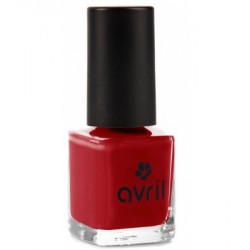 Avril Cosmétique Vernis à ongles Rouge Opéra n°19 7 ml maquillage vegan
