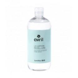 Avril Cosmétique Lotion micellaire Bleuet Aloe Vera 500 ml démaquillant bio