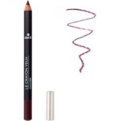 Avril Cosmétique Crayon contour des yeux Prune 1 gr maquillage bio les copines