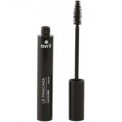 Avril Beauté Mascara marron longue tenue 9 ml maquillage bio les copines
