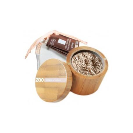 Zao Make Up Minéral Silk 501 Beige Clair 15gr maquillage bio les copines