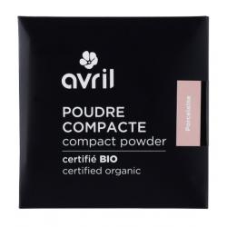 Avril Cosmétique Poudre compacte Porcelaine 7 gr maquillage bio lescopinesbio