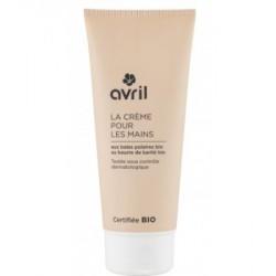 Avril cosmétique Crème mains Baies polaires et Beurre de Karité 100ml les copines bio