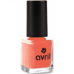 Avril beauté Vernis à ongles Corail n°02 7ml maquillage bio les copines bio