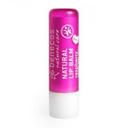Benecos Baume à lèvres huile de pepins de Framboise 4 gr cosmetique bio les copines bio