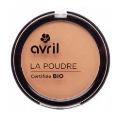 Avril cosmétique Poudre bronzante caramel doré 7gr maquillage bio les copines