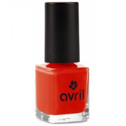 Avril cosmétique Vernis à ongles Coquelicot n°40 7ml maquillage vegan