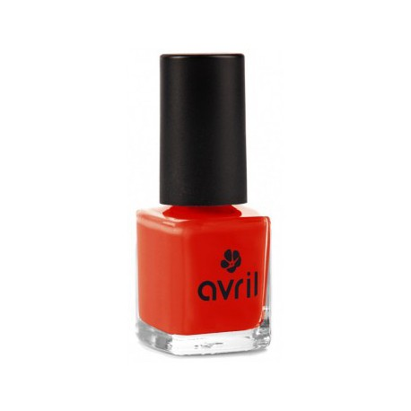 Avril cosmétique Vernis à ongles Coquelicot n°40 7ml maquillage vegan les copines bio