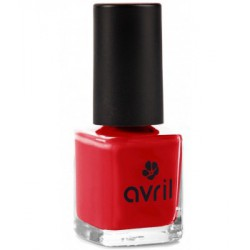 Avril cosmétique Vernis à ongles Vermillon n°33 7ml maquillage vegan