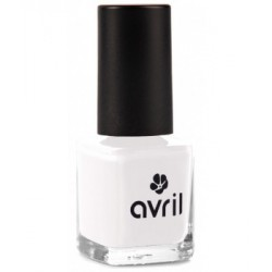Avril cosmétique Vernis à ongles French Blanc n°95 7ml maquillage vegan