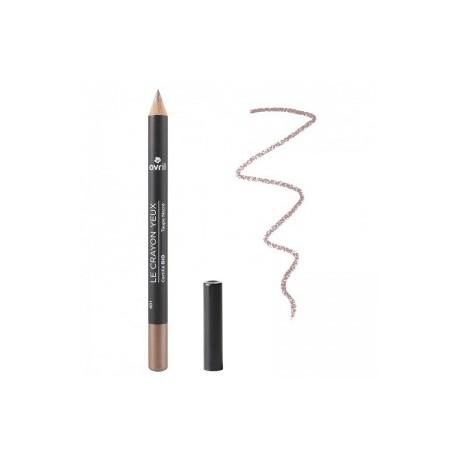 Avril cosmétique Crayon pour les yeux Taupe nacré 1gr maquillage bio