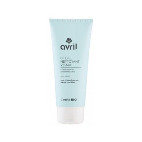 Avril cosmétique Gel nettoyant doux visage 100ml cosmétique bio les copines