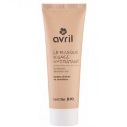 Avril cosmétique Masque visage hydratant peaux sèches et sensibles 50ml cosmétique bio