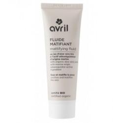 Avril cosmétique Fluide matifiant 50ml cosmétique bio les copines
