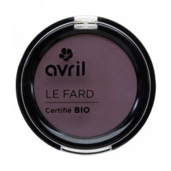 Avril cosmétique Fard à paupière Prune irisé 2.5g maquillage bio