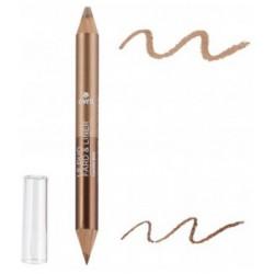Avril cosmétique Duo liner Bronze cuivré/Beige doré 2gr maquillage bio