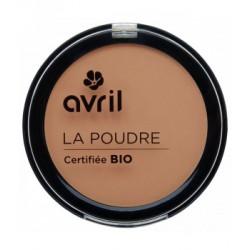 Avril cosmétique Poudre compacte Abricot 7gr maquillage bio les copines bio