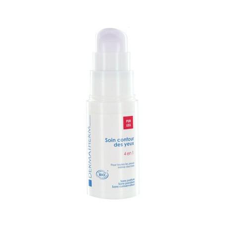 Soin contour des yeux bio 4 en 1-15 ml - Peaux sensibles