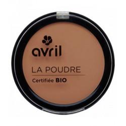 Avril cosmétique Poudre compacte Cuivrée 7gr maquillage bio du teint