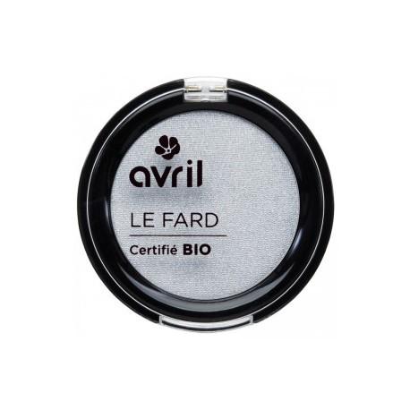 Avril cosmétique Fard à paupières Gris perle irisé 2.5gr maquillage bio les copines