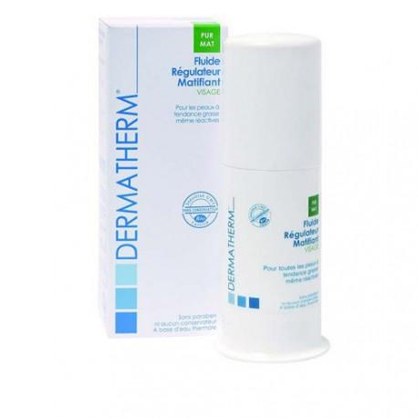 Fluide régulateur matifiant visage-50 ml - Peaux à tendance grasse
