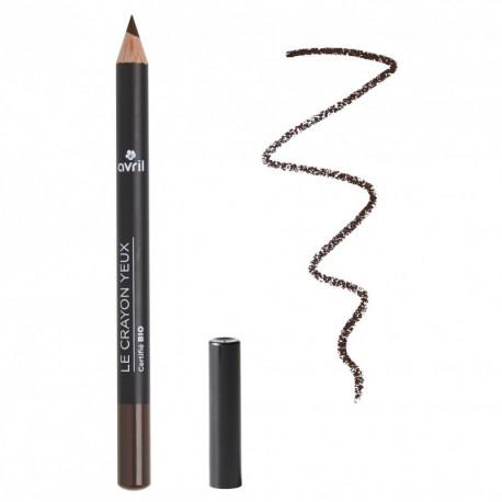 Avril cosmétique Crayon à Sourcils Brun 1g maquillage minéral et bio les copines