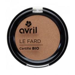 Avril cosmétique Fard à paupières Cuivre irisé 2.5g maquillage bio les copines bio