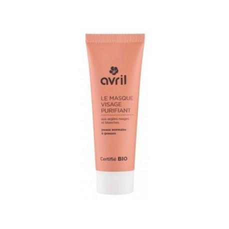 Avril cosmétique Masque visage purifiant peaux normales à grasses 50ml masque bio les copines bio