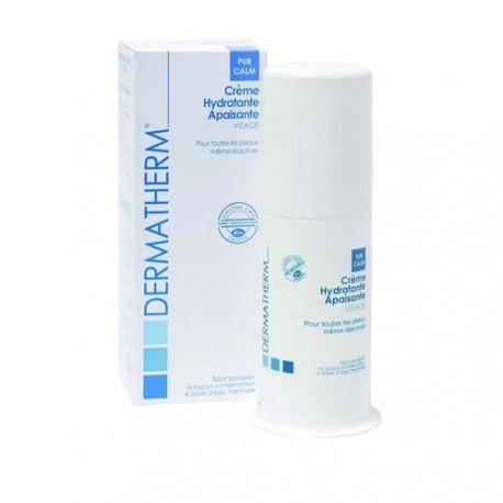 Crème hydratante apaisante visage-50 ml