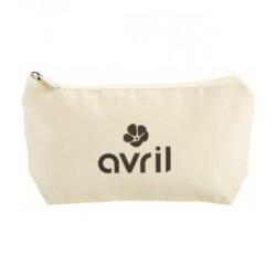 Avril Beauté Trousse coton bio petit modèle