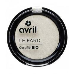 Avril cosmétique Fard à paupières Ivoire nacré 2.5gr maquillage bio les copines bio